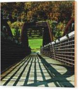 Bridge At Killington Wood Print