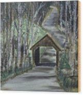 Covered Bridge Sleeping Bear Dunes  Wood Print
