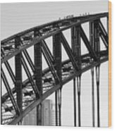 Bridge Climb 1 Wood Print