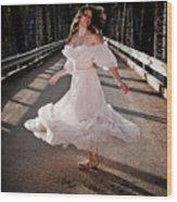 Bridge Dancer Wood Print
