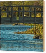 Bridge For Lovers Wood Print