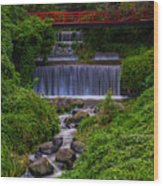 Bridge Haiku Wood Print