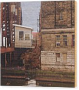 Bridge House Wood Print