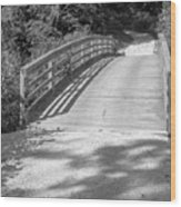 Bridge In The Path II Wood Print