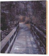 Bridge In The Shenandoah Wood Print