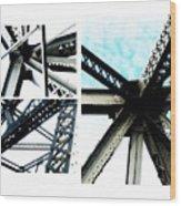 Bridge Jux 1 Wood Print