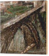 Bridge Luis I-Oporto Wood Print