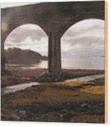 Bridge Near Mallaig Wood Print