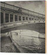 Bridge Of L'archeveche Wood Print