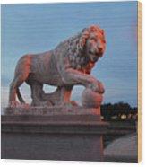 Bridge Of Lions 2 Wood Print