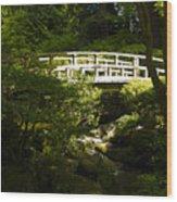 Bridge Of Peace Wood Print