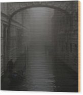 Bridge Of Sighs, Venice, Italy Wood Print