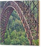 Bridge Of Trees Wood Print