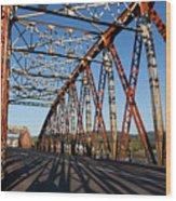 Bridge Of Treto, Colindres Wood Print