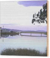 Bridge Over Browns River  Wood Print
