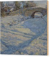 Bridge Over Lancaster Canal Wood Print