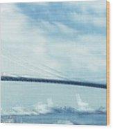 Bridge Over Troubled Waters Wood Print