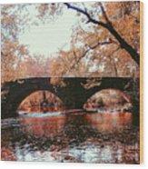 Bridge Over Yellow Breeches Creek Wood Print