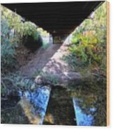 Bridge Puzzle Wood Print