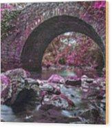 Bridge River Wood Print