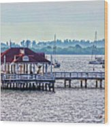 Bridge Street Pier Wood Print