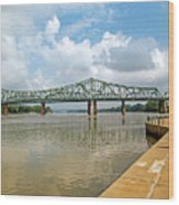bridge to Belpre, Ohio Wood Print