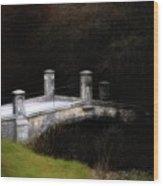Bridge To Darkness Wood Print