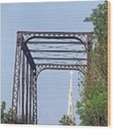 Bridge To God Wood Print
