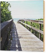 Bridge To Paradise Gp Wood Print