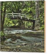 Bridge To Serenity Wood Print