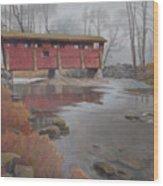 Bridge To Sleepy Hollow Wood Print