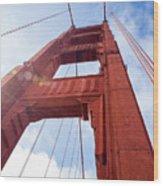 Bridge Tower Wood Print