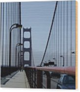 Bridge Walk Wood Print