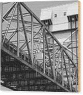 Bridge Willmington Nc Wood Print