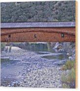 Bridgeport Covered Bridge Wood Print