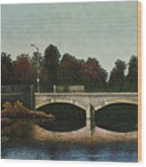 Bridges Of Forest Park Iv Wood Print