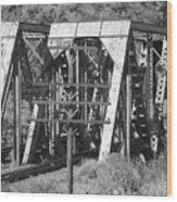 Bridges Of Power Wood Print