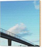 Bridges To Jupiter Wood Print