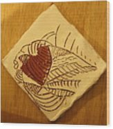 Bridget - Tile Wood Print