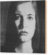 Bridget L. #3 Wood Print
