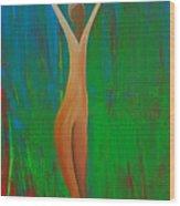 Bridging Heaven And Earth Wood Print
