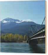 Bridging The Seasons Wood Print
