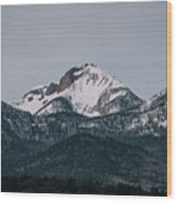 Brief Luminance Wood Print