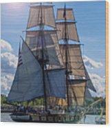 Brig Niagara Iv Wood Print
