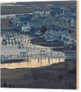 Brigantine Dawn Wood Print