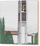 Brigham Young University Wood Print