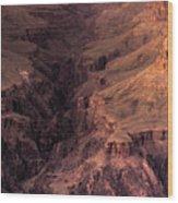 Bright Angel Canyon Grand Canyon National Park Wood Print