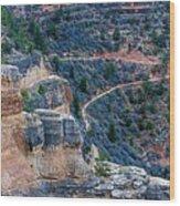 Bright Angel Trail @ Grand Canyon Wood Print