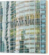 Bright City 3 Wood Print