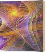 Bright Idea - Square Version Wood Print